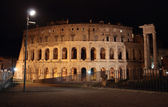 Theatre of Marcellus in Rome — Стоковое фото