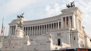 The Altare della Patria — Stock Video
