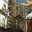 Exterior with scaffold — Stock Photo #39204777