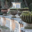 Stock Photo: Vases in VillDoriPamphili Public park