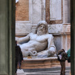 Stock Photo: Colossal statue Marforio