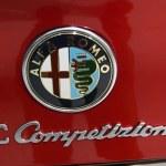Постер, плакат: Alfa Romeo 8C Competizione