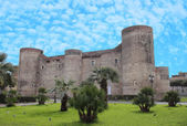 Ursino Castle in Catania — Stock Photo