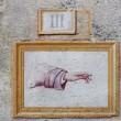 Stock Photo: Hand indicator fresco