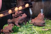 Chocolate toads — Foto Stock