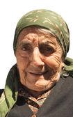 Smiling elder woman — Stock Photo