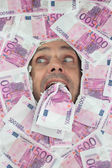 Funny Euro Man — Stock fotografie