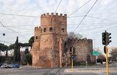 Porta San Paolo in Rome — Stock Photo