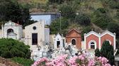 Cemetery in Castiglion della Pescaia, Italy — Stock Photo