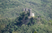 Ruins of Cerbaia castle in Cantagallo — Stock Photo