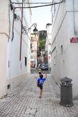 San Felice Circeo kids — Foto Stock