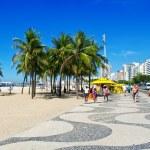 Copacabana beach in Rio de Janeiro — Stock Photo #12592106