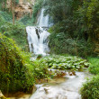 Waterfall in Villa Gregoriana in Tivoli, Italy — Stock Photo