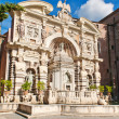Organ Fountain in villa d Este in Tivoli — Stock Photo