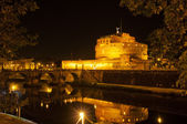 Castle Sant Angelo in Roma, Italy — Stock Photo