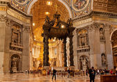 St. Peter's Basilica in Rome — Stock Photo