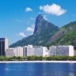 Botafogo and Corcovado in Rio de Janeiro — Stock Photo #22464713