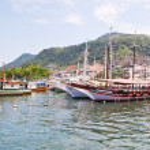 Port in Angra dos Reis Rio de Janeiro — Stock Photo #22694333