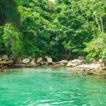 Blue Lagoon in Angra dos Reis. Rio de Janeiro — Stock Photo #22694371