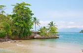 Island in Angra dos Reis. Rio de Janeiro — Stock Photo