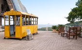 Old cable car to Sugar loaf on Urca in Rio de Janeiro — Stock Photo