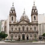 Church Nossa Senhora da Candelaria in Rio de Janeiro — Stock Photo #22784054