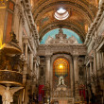 Church Nossa Senhora da Candelaria in Rio de Janeiro — Stock Photo #22784078