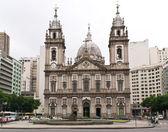 Church Nossa Senhora da Candelaria in Rio de Janeiro — Stock Photo
