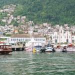 Port in Angra dos Reis Rio de Janeiro — Stock Photo #25940909