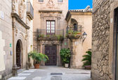 Poble Espanyol traditional architectures in Barcelona — Stock Photo