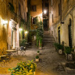 Stockfoto: Old courtyard in Rome