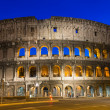Night view of Colosseum in Rome  — Stock Photo