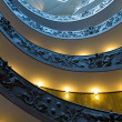 Spiral stairs of the Vatican Museums in Vatican, Rome  — Stock Photo