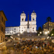 Square Piazza di Spagna in Rome — Stock Photo
