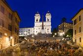 Square Piazza di Spagna in Rome — Stock Photo