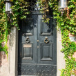 The old front door in Rome — Stock Photo