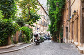 Old street in Rome — Stock Photo