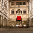 Uffizi Gallery, primary art museum of Florence Tuscany, Italy — Stock Photo