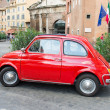 ������, ������: Fiat 500 parked in Rome
