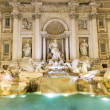 Trevi Fountain  Fontana di Trevi  in Rome — Stock Photo