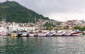 Port in Angra dos Reis Rio de Janeiro — Stock Photo