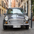 Retro Mini cooper — Stock Photo