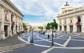 Piazza Capitoline in Rome — Stock Photo