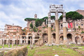 Forum of Caesar in Rome — Stock Photo