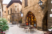 Poble Espanyol - traditional architectures in Barcelona — Stock Photo
