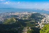 Aerial view of Rio de Janeiro — Stock Photo
