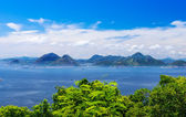Guanabara bay in Rio de Janeiro — Stock Photo