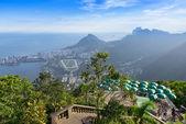 Jockey club, Lagoa and Leblon in Rio de Janeiro — Stock Photo