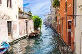 Canal em Veneza — Fotografia Stock