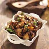 Rosemary herb potatoes — Stock Photo